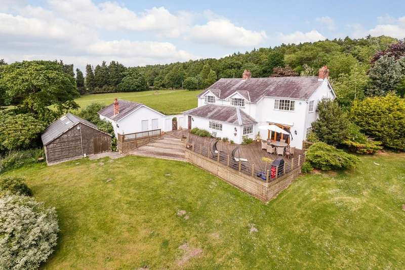 4 Bedrooms Detached House for sale in Warwick House, Kelsall, CW6 0TG