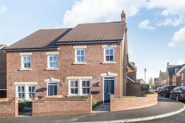 3 Bedrooms Semi Detached House for sale in Henman Close, Kempston, Bedford