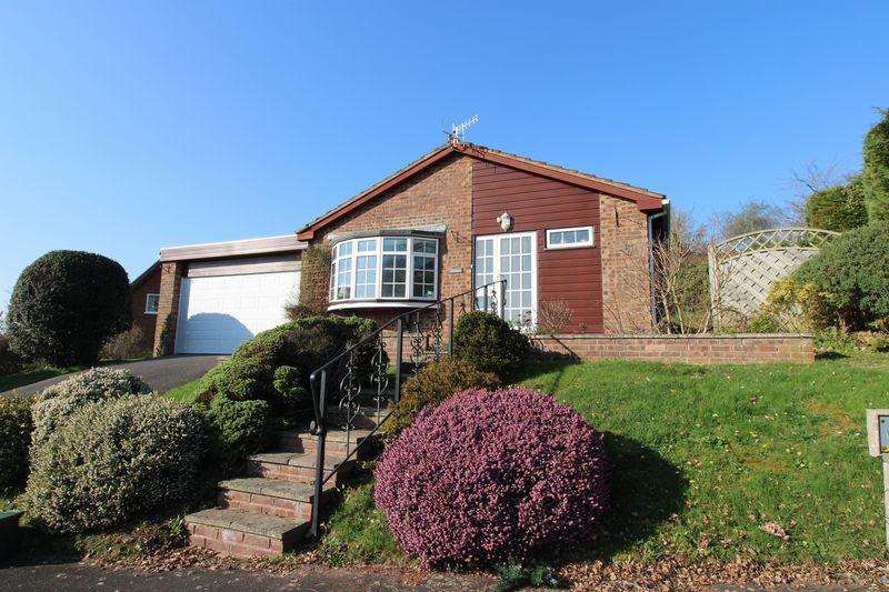 3 Bedrooms Bungalow for sale in Wallis Close, Osbaston, Monmouth
