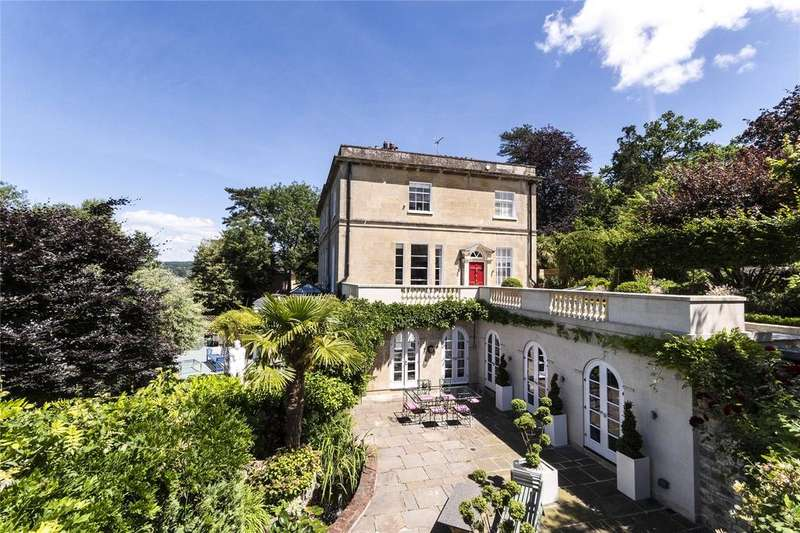 4 Bedrooms Semi Detached House for sale in Warminster Road, Bath, BA2