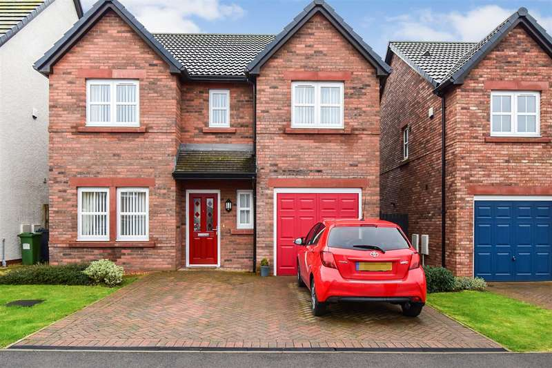 4 Bedrooms Detached House for sale in St Mungos Close, Dearham, Maryport