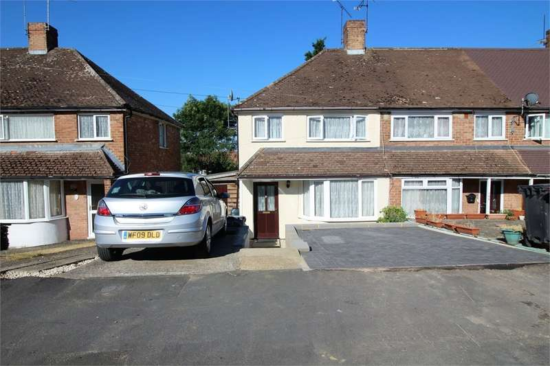 3 Bedrooms End Of Terrace House for sale in Thirlmere Avenue, Tilehurst, READING, Berkshire