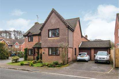 4 Bedrooms Detached House for sale in Hedge End, Southampton, Hampshire