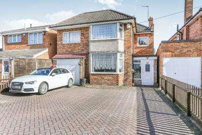 4 Bedrooms Link Detached House for sale in Tile Cross Road, Tile Cross, Birmingham, .