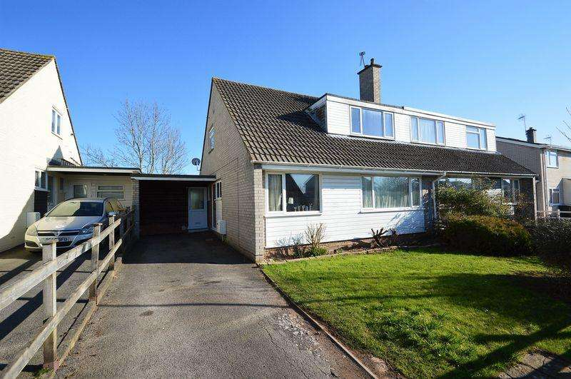 3 Bedrooms Semi Detached House for sale in Situated on a pleasant cul de sac in the popular village of Congresbury