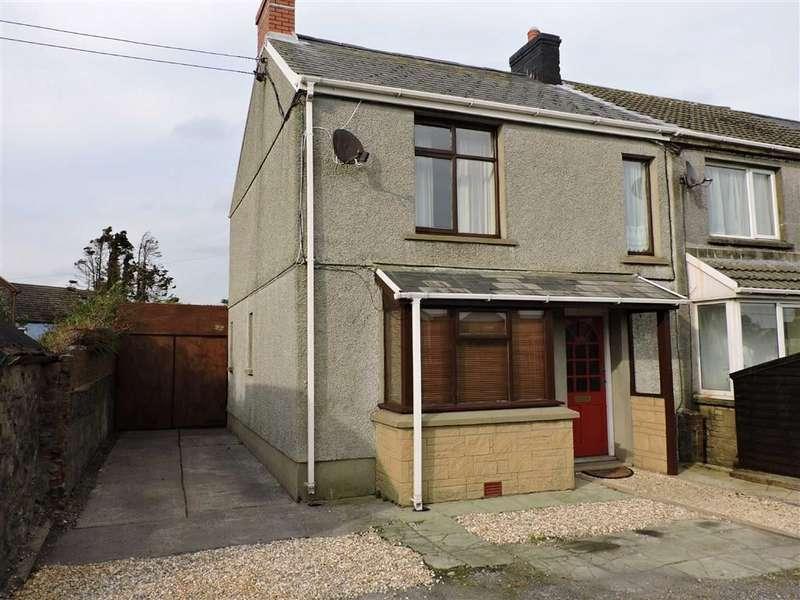 2 Bedrooms Semi Detached House for sale in Croft Cottages, Llansaint