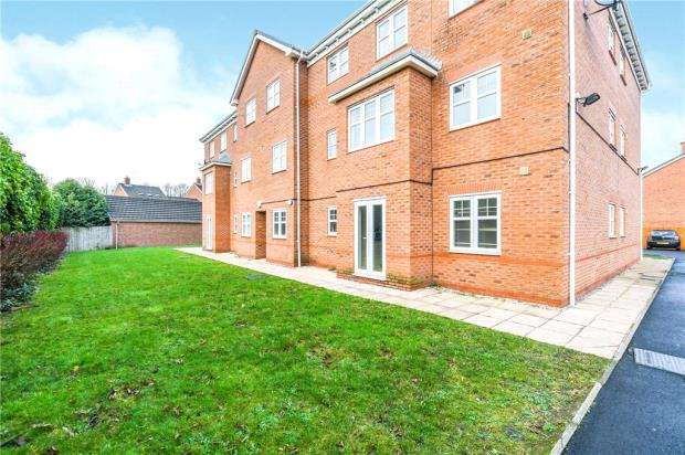 2 Bedrooms Apartment Flat for sale in Bradgate Close, Warrington