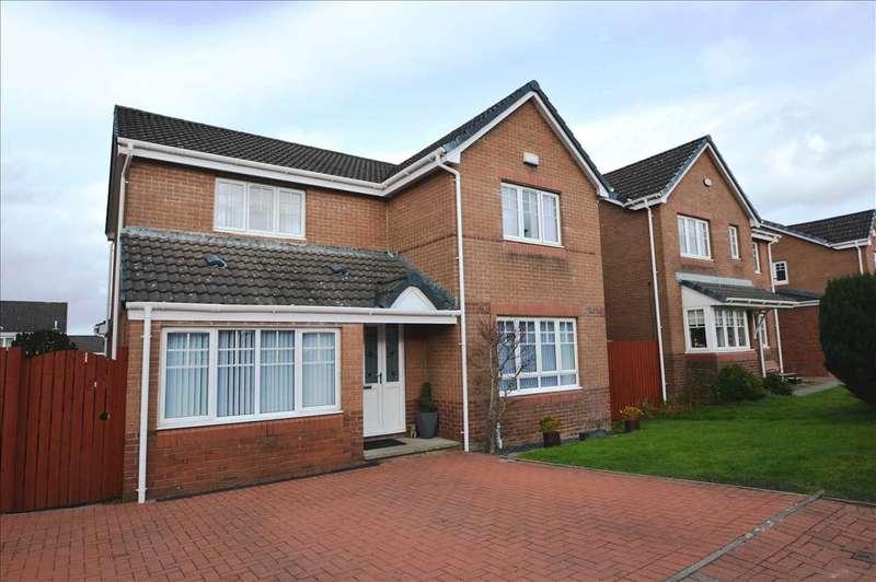 4 Bedrooms Detached House for sale in Heathery Lea Avenue, Carnbroe, Coatbridge