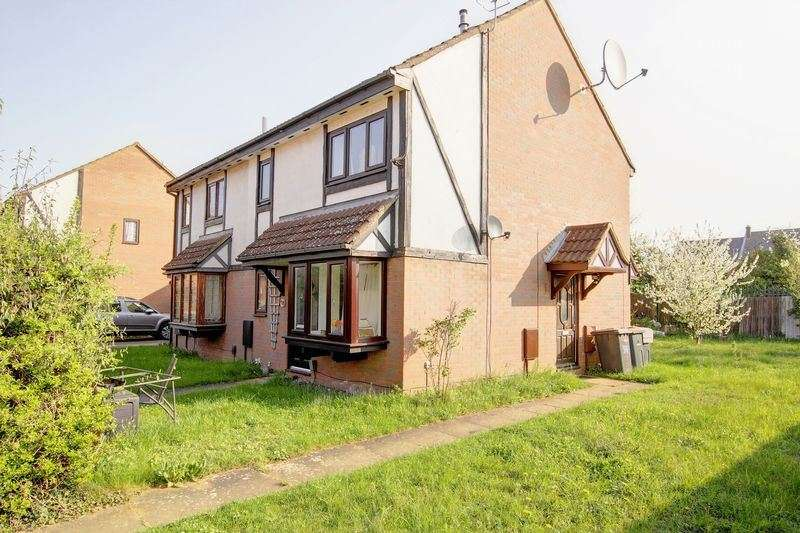 1 Bedroom Property for sale in Queensbury Close, Bedford, Bedfordshire, MK40 4RE