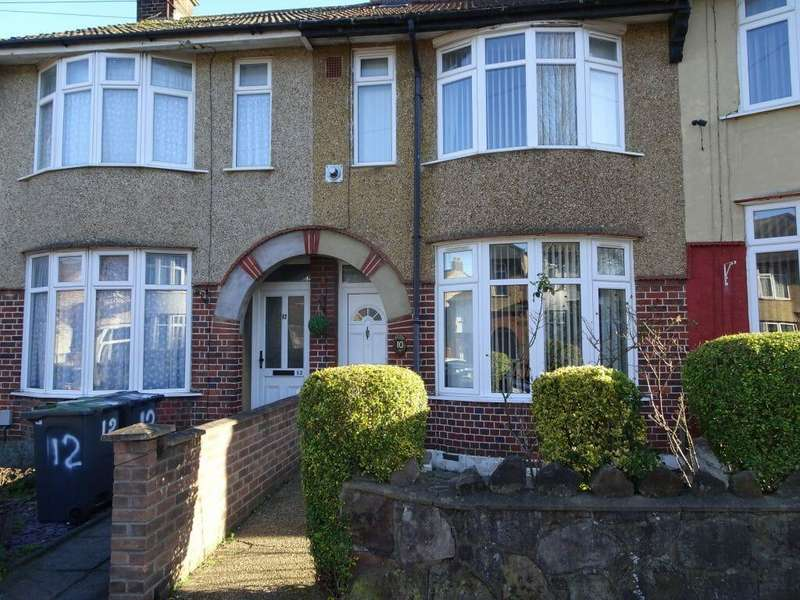 3 Bedrooms Terraced House for sale in St. Monicas Avenue, Luton LU3