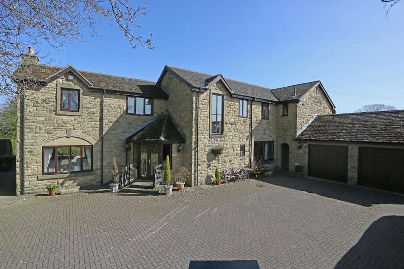 4 Bedrooms Detached House for sale in Manndalin, Harrogate View, Off Shadwell Lane, Leeds, West Yorkshire