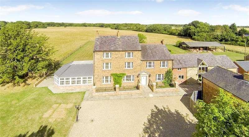 6 Bedrooms Detached House for sale in Hardwick, Wellingborough, Northamptonshire