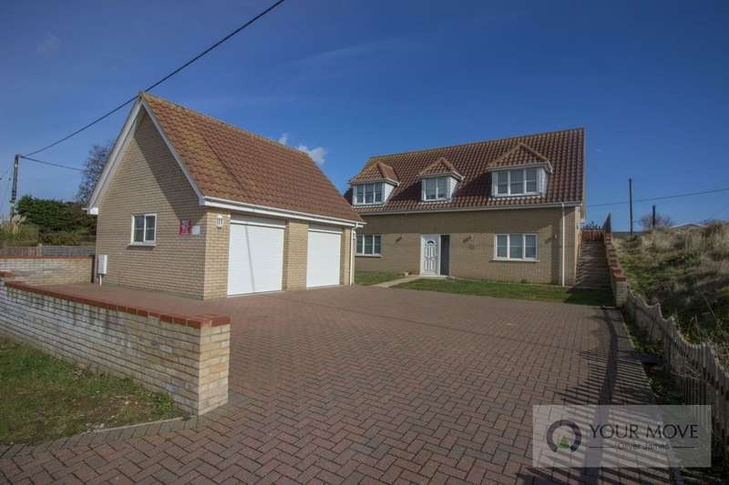 5 Bedrooms Detached House for sale in St. Marys Road, Hemsby, Great Yarmouth, NR29