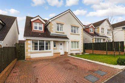 5 Bedrooms Detached House for sale in Singers Place, Dennyloanhead