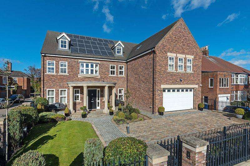 6 Bedrooms Detached House for sale in Kenton House, Kenton Avenue, Gosforth