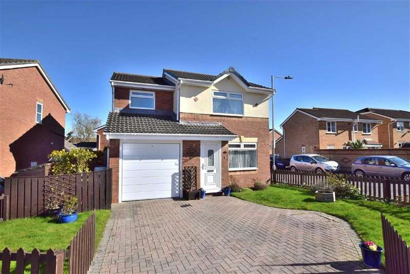 3 Bedrooms Detached House for sale in Beecher Stowe Drive, Brough With St Giles, North Yorkshire