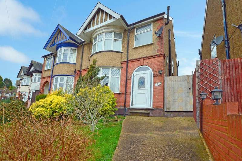 3 Bedrooms Semi Detached House for sale in Seymour Road, South Luton, Luton, LU1 3NW