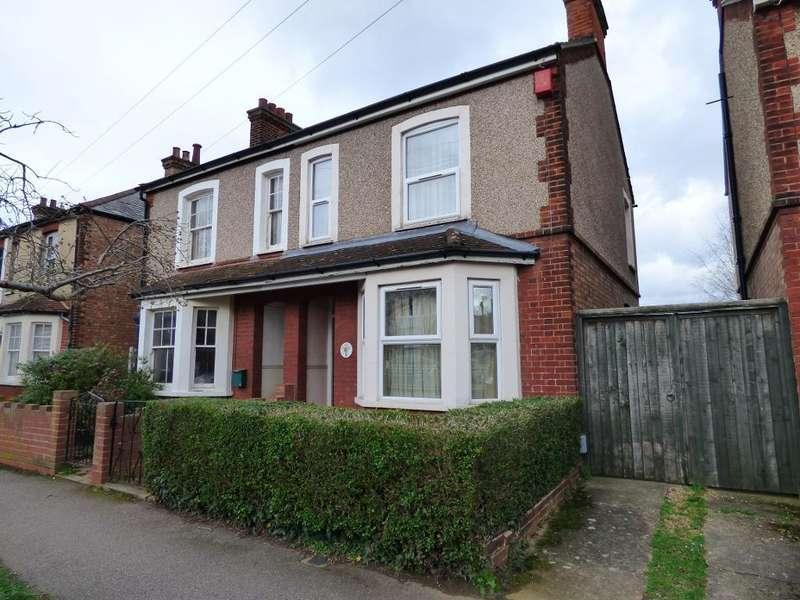3 Bedrooms Semi Detached House for sale in Queen Alexandra Road, Bedford, MK41 9SE