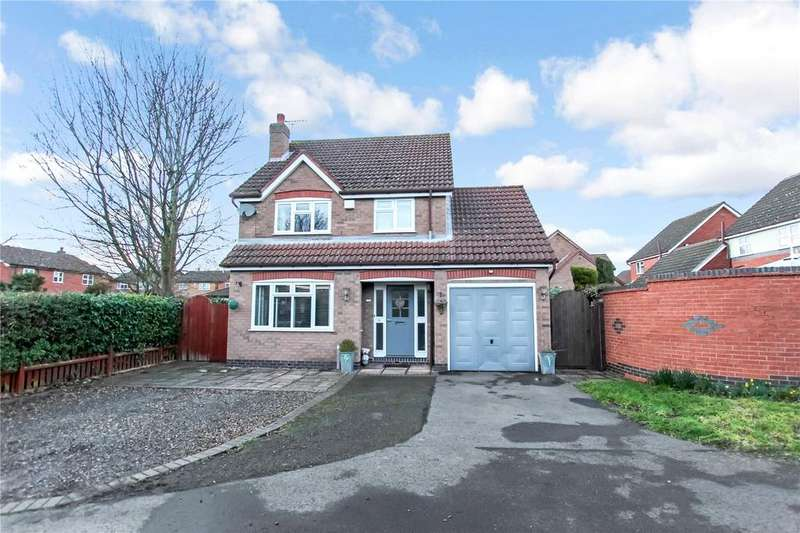4 Bedrooms Detached House for sale in Montsoreau Way, Mountsorrel, Loughborough, Leicestershire, LE12
