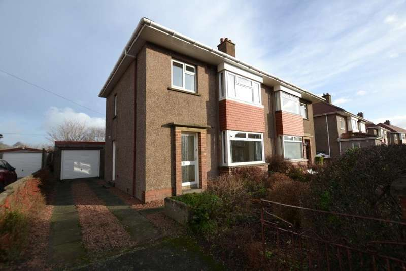 3 Bedrooms Semi Detached House for sale in Norman Crescent, Irvine, North Ayrshire, KA12 8SB