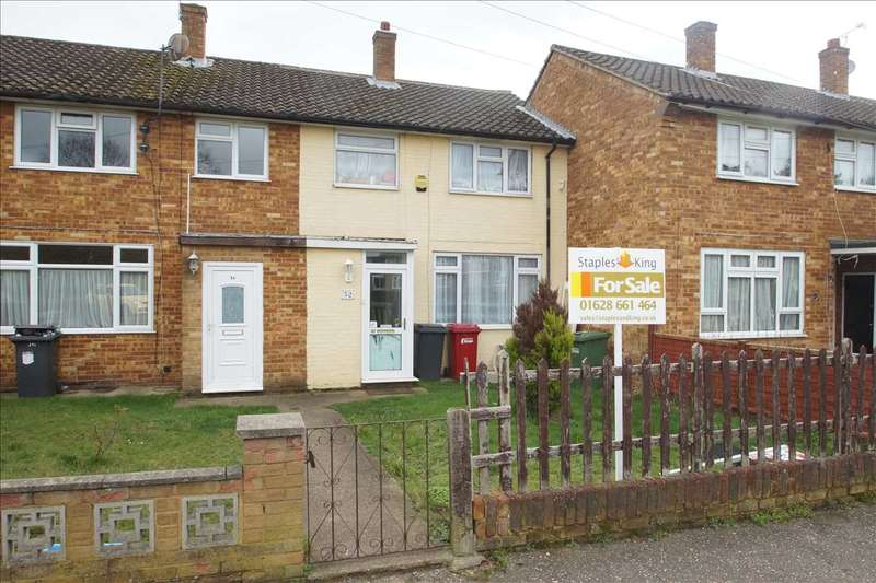 3 Bedrooms Terraced House for sale in Garrard Road, Slough