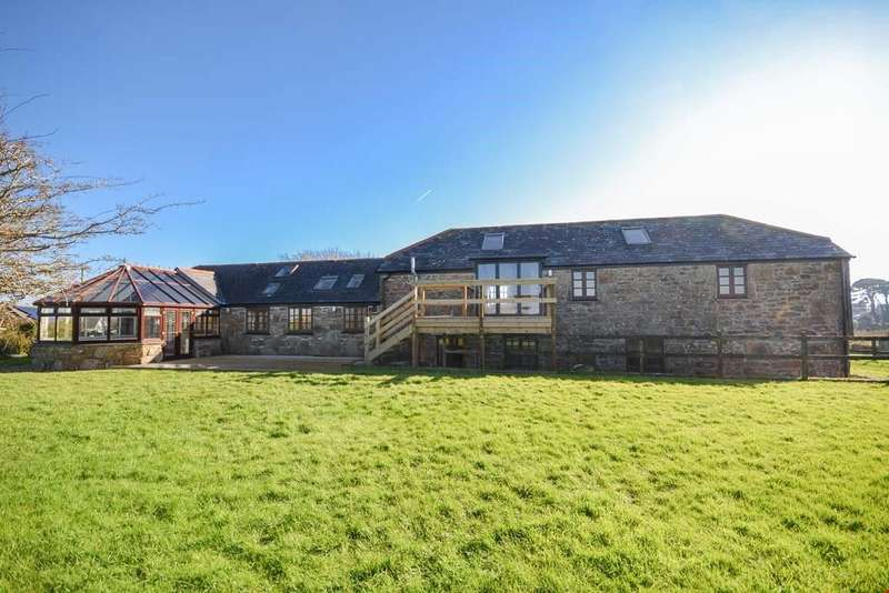 6 Bedrooms Detached House for sale in Tredavoe Lane, Newlyn, Penzance, West Cornwall