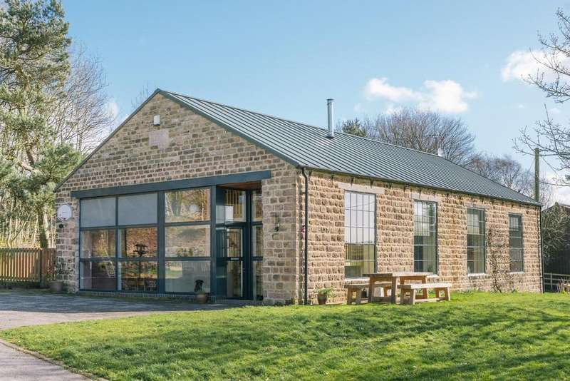 5 Bedrooms Detached House for sale in Middle Lane, Tansley, Matlock