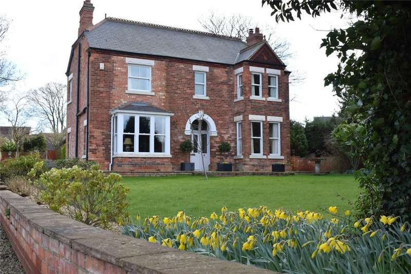 4 Bedrooms Detached House for sale in Station Road, Kirton In Lindsey, Lincolnshire, DN21