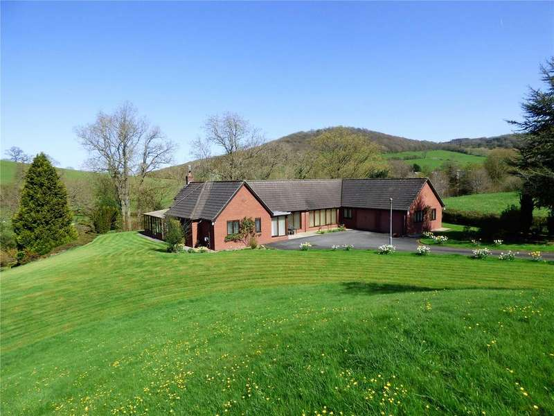 4 Bedrooms Detached Bungalow for sale in Llanthomas Lane, Llanigon, Hereford