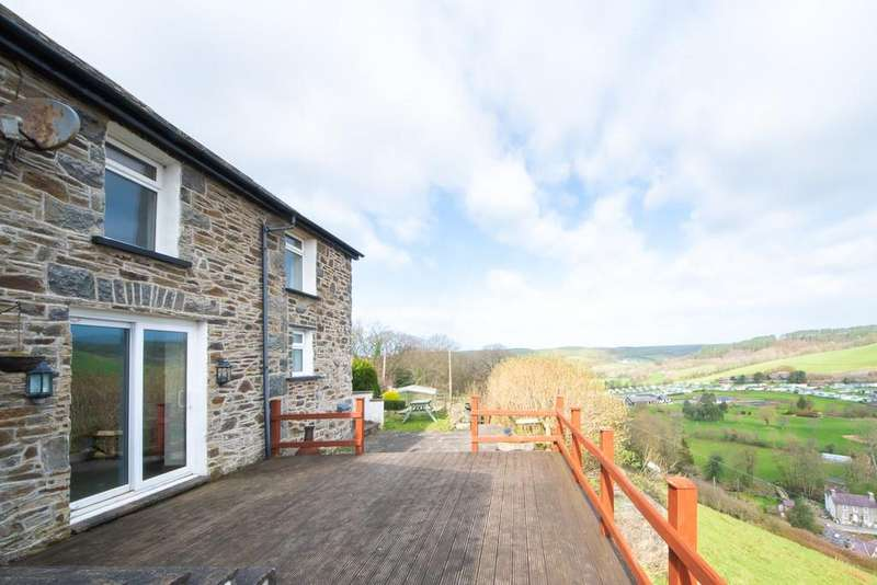 2 Bedrooms Barn Conversion Character Property for sale in Llanrhystud