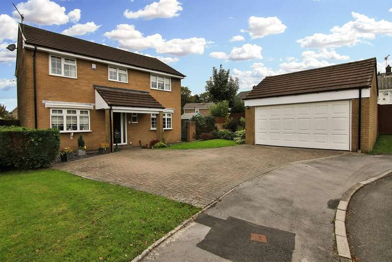 4 Bedrooms Detached House for sale in The Ridings, Tonteg, Pontypridd