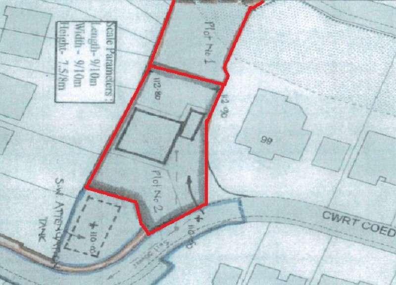 Land Commercial for sale in Cwrt Coed Parc, Maesteg, Bridgend County. CF34 9DR