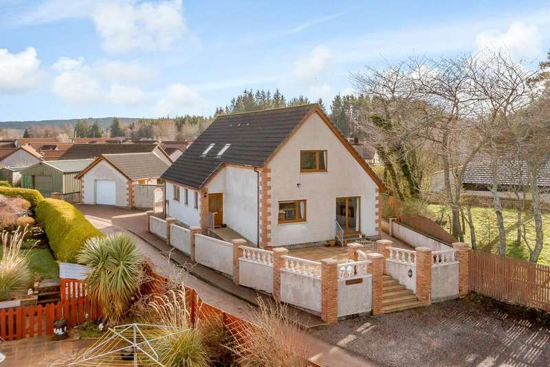 4 Bedrooms Detached House for sale in Culbokie, Dingwall, Ross-Shire
