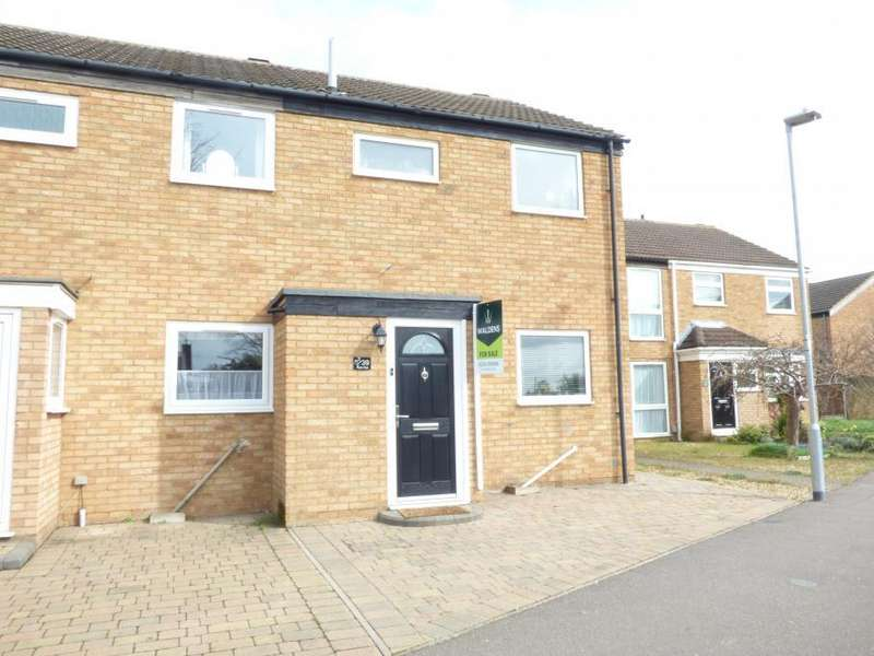 2 Bedrooms End Of Terrace House for sale in Kempston, Beds, MK42 8QJ