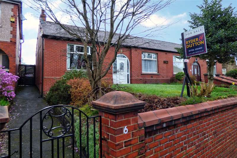 2 Bedrooms Semi Detached Bungalow for sale in Edenfield Road, Rochdale, Greater Manchester, OL11