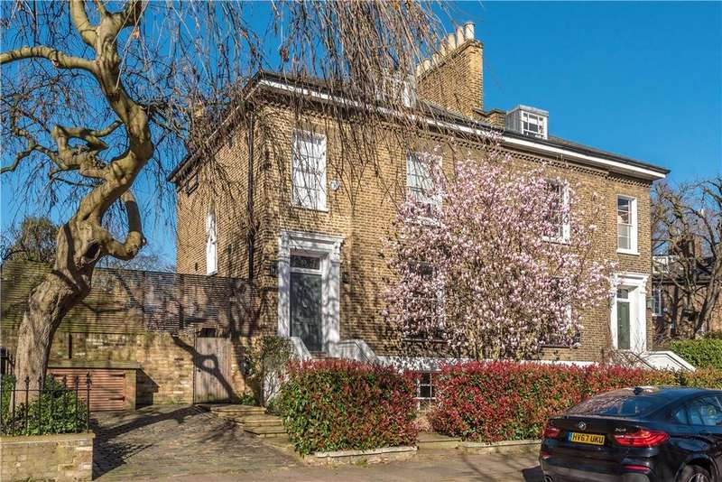 4 Bedrooms Semi Detached House for sale in Canonbury Park South, London, N1