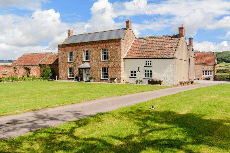 5 Bedrooms Detached House for sale in Loxton, North Somerset
