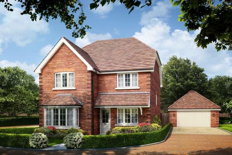 4 Bedrooms Detached House for sale in Larks Hill Place, Watersplash Lane, Warfield, Berkshire, RG42
