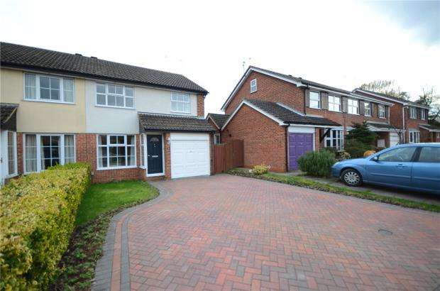 3 Bedrooms Semi Detached House for sale in Wheelton Close, Earley, Reading