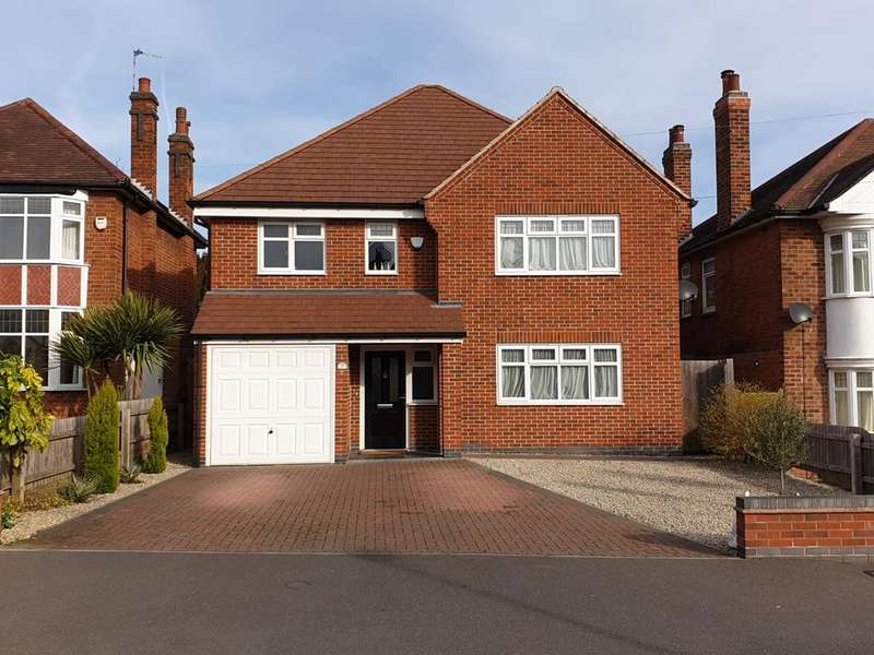 4 Bedrooms Detached House for sale in Oakfield Avenue, Birstall, LE4