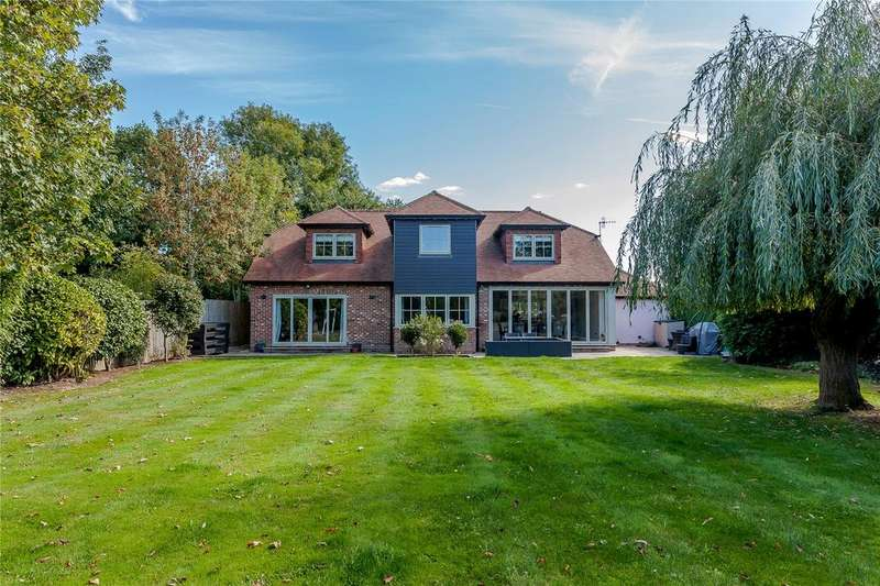 4 Bedrooms Detached House for sale in South Lane, Woodmancote, Emsworth, Hampshire