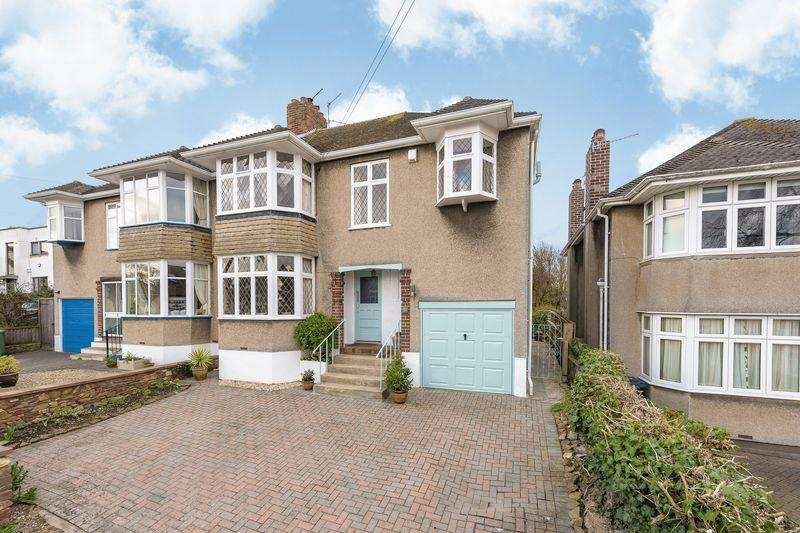 4 Bedrooms Semi Detached House for sale in Briarwood, Bristol