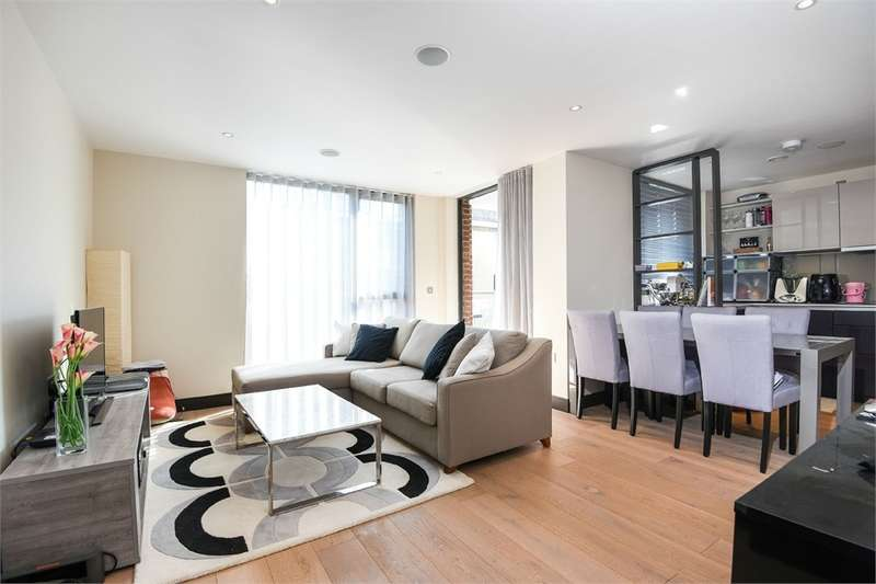 2 Bedrooms Flat for sale in Zeiss Court, Lancaster Street, London, England