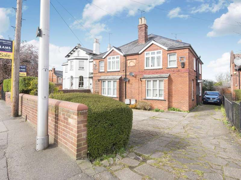 3 Bedrooms Semi Detached House for sale in Tilehurst Road, Reading, RG1