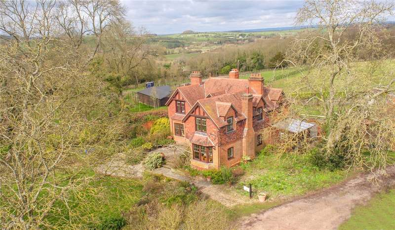 5 Bedrooms Detached House for sale in Steepleton Hill, Stockbridge, Hampshire, SO20