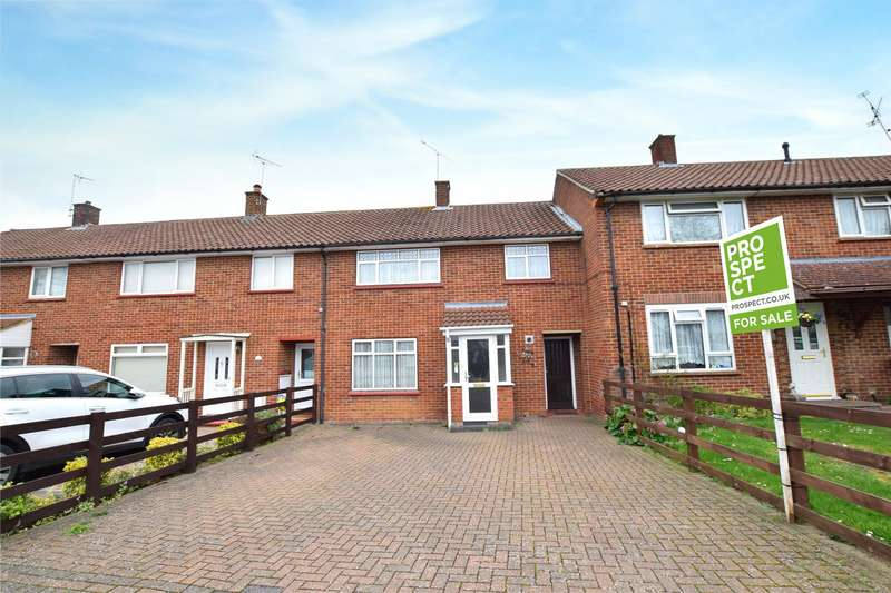 3 Bedrooms Terraced House for sale in Meadow Way, Bracknell, Berkshire, RG42