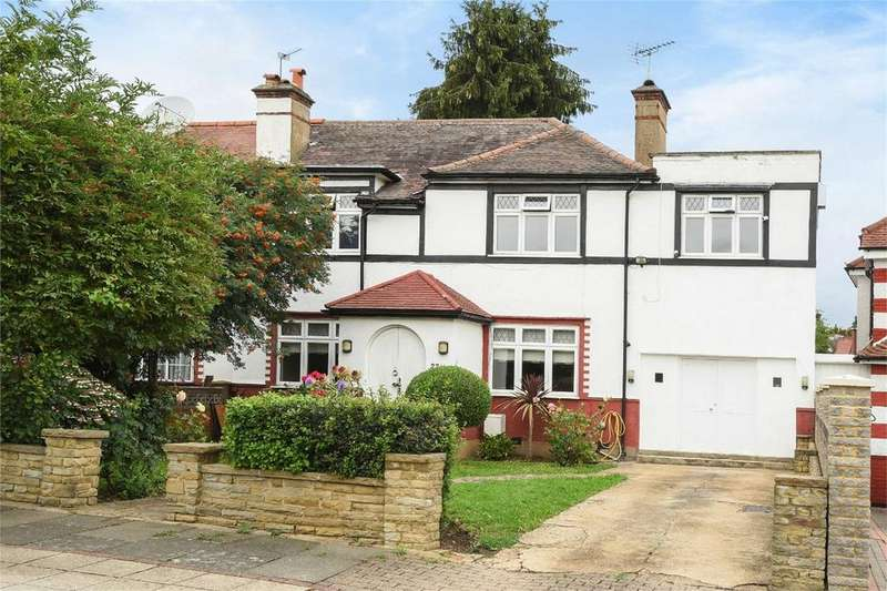5 Bedrooms Semi Detached House for sale in Queens Walk, Kingsbury, London