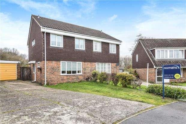 3 Bedrooms Semi Detached House for sale in Staplehurst, Bracknell, Berkshire