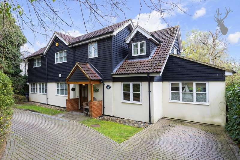 4 Bedrooms Detached House for sale in Kendal Avenue, Epping, CM16