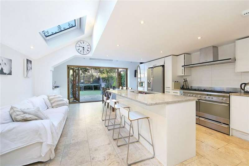 5 Bedrooms Terraced House for sale in Chaldon Road, London, SW6